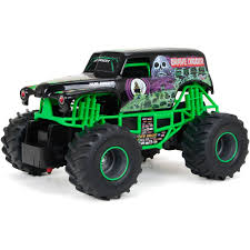 monster jam new trucks wheels monster jam 1 24 thrasher green walmart com
