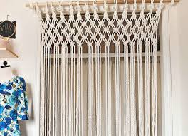 macrame curtain room divider ideas room dividers ideas to buy
