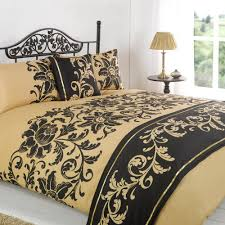 Bed In A Bag Duvet Cover Sets by 5pc Love Gold Single Size Bed In A Bag Duvet Quilt Cover Bedding