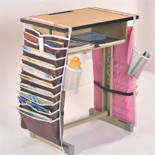 multifunctional table multifunctional desk artifact students book bag hanging adjustable
