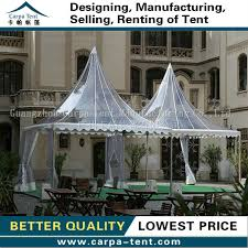 Transparent Tent 5mx5m Transparent Tents Of Pagoda Tents For Coffee Bar For Sale