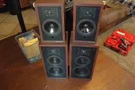 nice speakers polk audio monitor 4 lf 14 system u2014 polk audio
