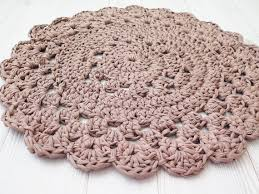 Small Bathroom Rugs And Mats Crochet Rug Doily Rug Small Round Rug Bath Mat Kitchen Mat With