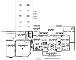 European Home Floor Plans by European Style House Plan 15 Beds 13 00 Baths 26337 Sq Ft Plan