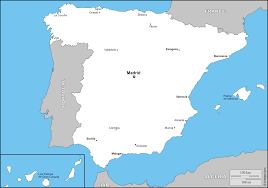 Cordoba Spain Map by Spain Free Map Free Blank Map Free Outline Map Free Base Map