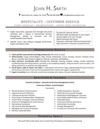 Sample Resume Objectives For Hotel And Restaurant Management by Samples U2013 Team Resumepro