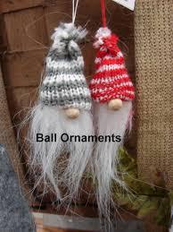 moose r us scandinavian gnome tomte felt ornaments santa