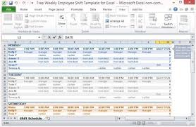 Excel Shift Schedule Template Microsoft Excel Work Schedule Template Dental Office Ideas