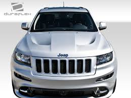 jeep laredo 2011 11 15 jeep grand cherokee srt look duraflex body kit hood