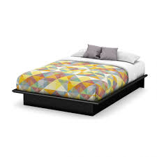 bedroom modern style beds wood platform bed without headboard
