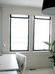 black roman shades windows clanagnew decoration