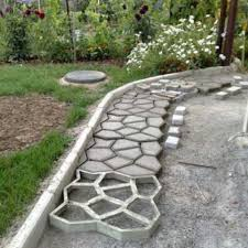 Concrete Driveway Paver Molds by Pavement Mold Diy Plastic Path Maker Mold Manually Paving Cement