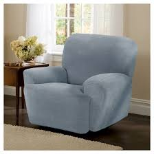 collin stretch recliner slipcover 4 piece maytex target