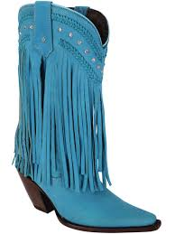 light colored cowgirl boots premier women s cowboy western leather fringe boots rhinestones