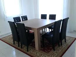 cuisine carré table de cuisine carree 8 places jaol me