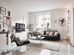 living room scandinavian interior apartment mix gray tones 1 1