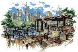 copic render render pinterest architecture sketches