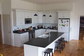 contemporary kitchen ideas perth cool blue backsplash and white