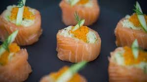 cuisiner choucroute crue makis de saumon fumé à la choucroute crue pomme verte avocat et