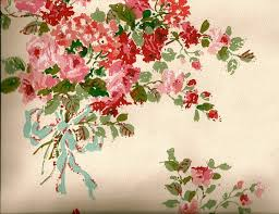 Floral Shabby Chic Wallpaper by Shabby Chic Wallpaper For Walls Within Stylish Bedroom Decor