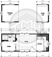 Micro Homes Floor Plans This Floor Plan Makes The Most Since That I U0027ve Seen Diamond Peak