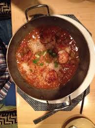 Schooners Coastal Kitchen - grilled scallops etouffee w okra picture of schooners coastal