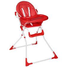 chaise bébé confort chaise haute pour bébé enfant confort pliable tectake