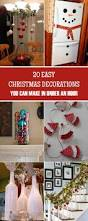 diy christmas decorations easy diy christmas decorations you can make in under an hour