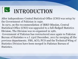 central statistical bureau chief statistical officer ppt