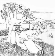 jonah coloring page jonah and the vine coloring page jonah pinterest printable