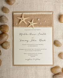 Burlap And Lace Wedding Invitations Beach Themed Wedding Invitations Marialonghi Com
