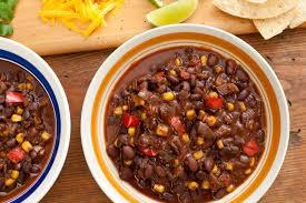 chili cuisine pressure cooker vegan black bean chili recipe chowhound