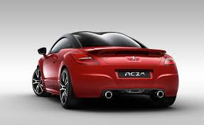 peugeot luxury car peugeot rcz r pricing and specifications photos 1 of 3