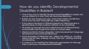 developmental disabilities by edee polyakovsky what is a