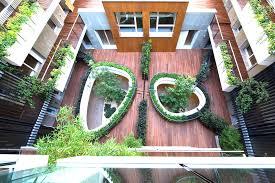internal courtyard inhabitat green design innovation