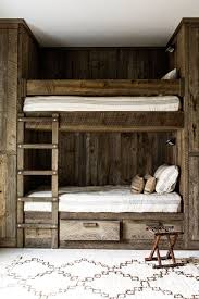 Wood Bunk Bed Designs by Brilliant Kids Bedrooms With Bunk Beds On Ideas