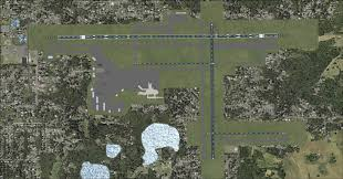 Orlando Airports Map by Orlando Sanford International Airport Microsoft Flight Simulator