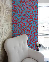 Non Permanent Wall Paper Keith Haring Adhesive Wall Tiles Stick On Wall Tiles U2013 Blik