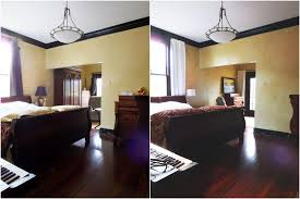 Makeover Bedroom - a traditional bedroom makeover before and after photos little