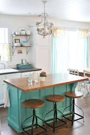 turquoise kitchen island 22 kitchen island ideas functional kitchen butcher blocks and