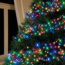 tree lights royalty free stock photo