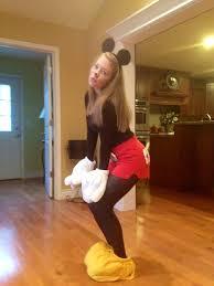 Minnie Mouse Halloween Costume Diy Handmade Mickey Mouse Costume Costume Ideas Mickey