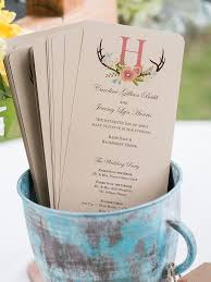 Wedding Programs With Ribbon 25 Ceremony Program Ideas You U0027ll Love