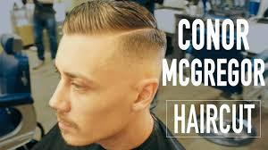 hard parting haircut conor mcgregor haircut side parting skin fade hairstyle for men