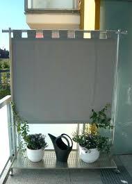 balkon windschutz ohne bohren seitlicher sichtschutz balkon sichtschutz fa 1 4 r den balkon gra