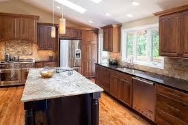 kitchen wall colors with cherry cabinets knotty alder cabinets