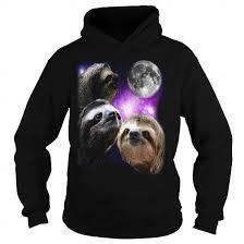 Sloth Meme Shirt - sloth three wolves moon parody meme shirt limited time only order