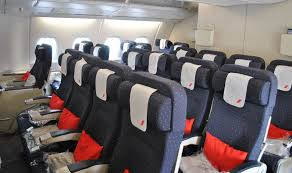 review of air flight from to york in economy