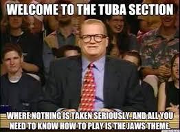 Tuba Memes - 56 best trumpet memes images on pinterest band nerd music and