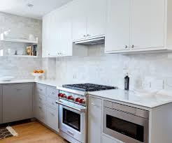engineered quartz kitchen kitchen scandinavian with flat panel